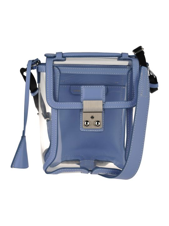 3.1 Phillip Lim Phillip Lim Transparent Pashli Camera Bag