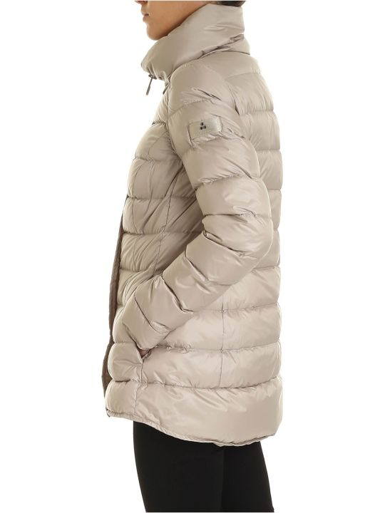 Peuterey Flagstaff Down Jacket In Nylon Beige Color