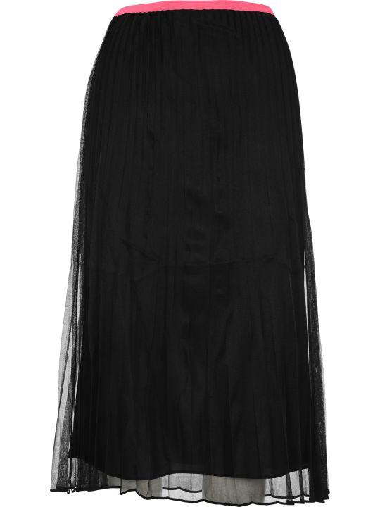 Helmut Lang Sheer Plated Skirt
