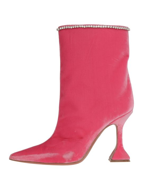 Amina Muaddi Mia Boots