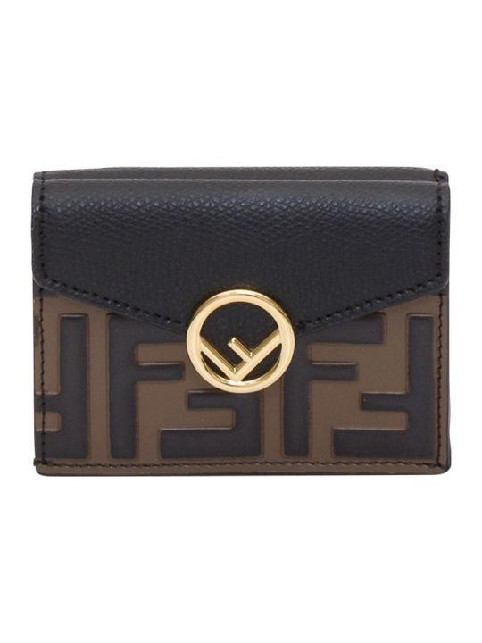 Fendi F Is Fendi Micro Tri-fold Wallet