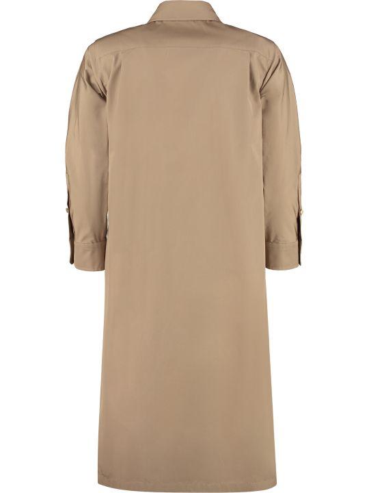 Max Mara Cinque Cotton Shirt Dress