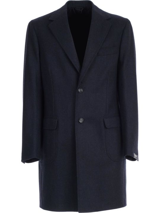 Barba Napoli Coat Single Breasted