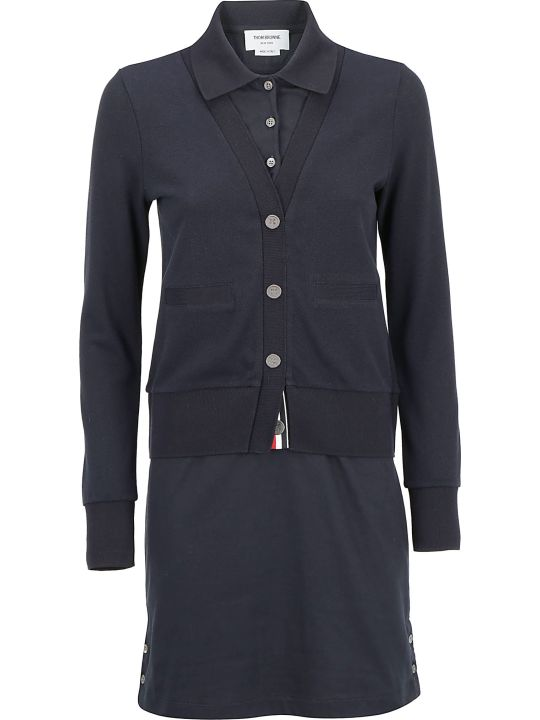 Thom Browne Polo Dress