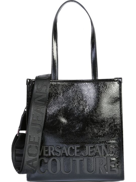 Versace Jeans Couture Small Tote Bag With Logo