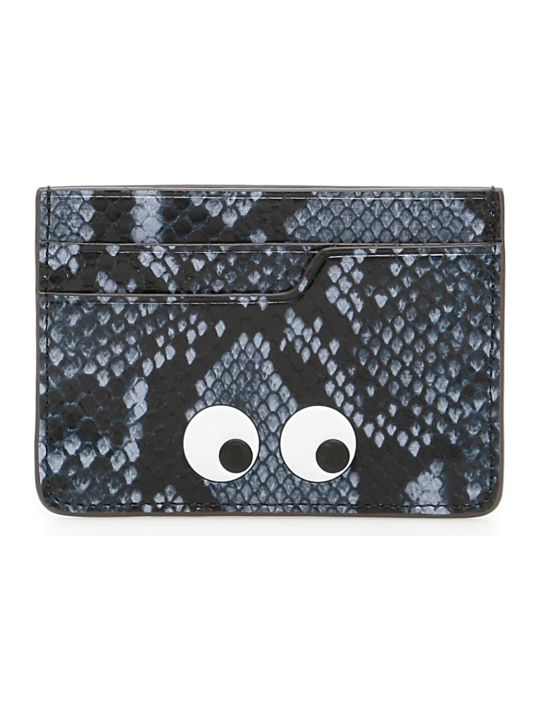 Anya Hindmarch Python Print Eyes Cardholder