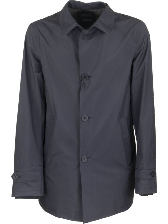 Herno Coat In Lamimar Technical Fabric