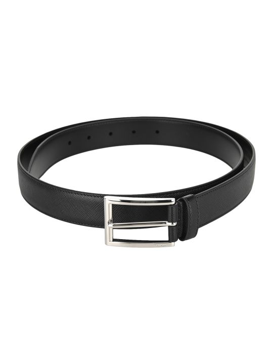 Prada Classic Buckled Belt