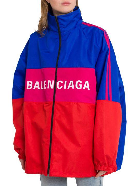 Balenciaga Logo Zip-up Jacket