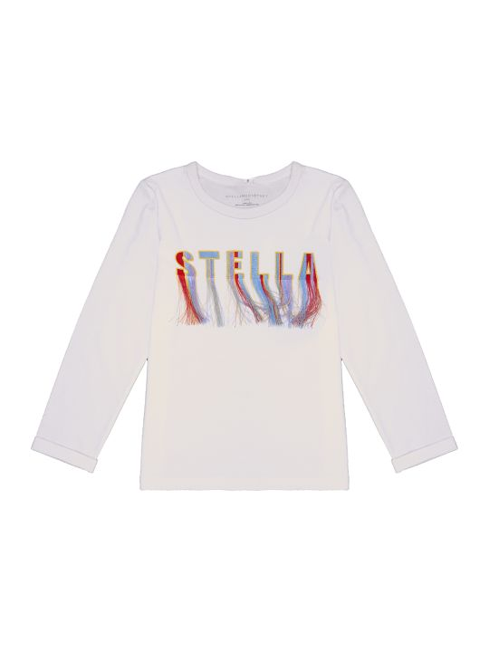 Stella McCartney Ss Tshirt W/logo Embro