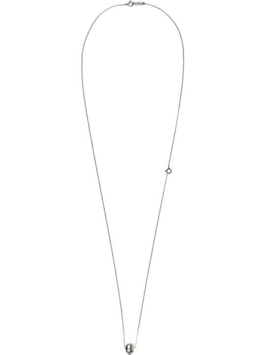 Ugo Cacciatori Classic Skull Silver Necklace