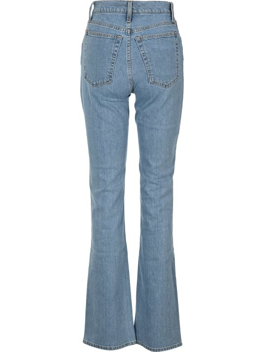 Helmut Lang Femme High Bootcut Jeans By Helmut Lang