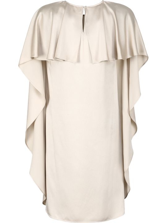 Stella McCartney Crêpe Envers Satin Dress