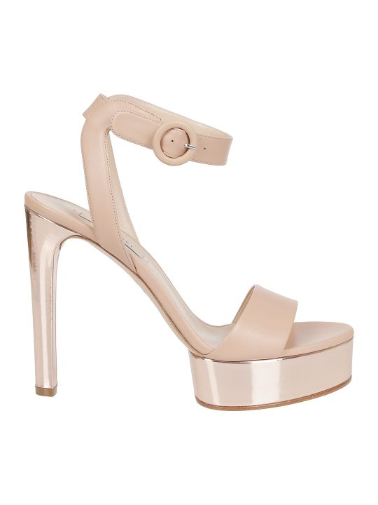Casadei High Heel Platform Sandals
