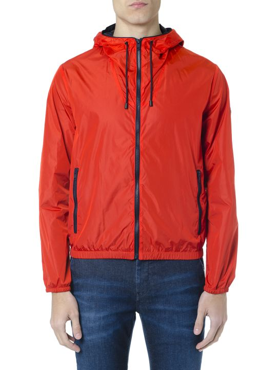 Fay F-way Red Technical Fabric Jacket