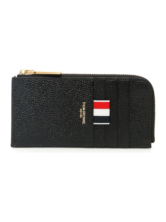 Thom Browne Grain Leather Cardholder