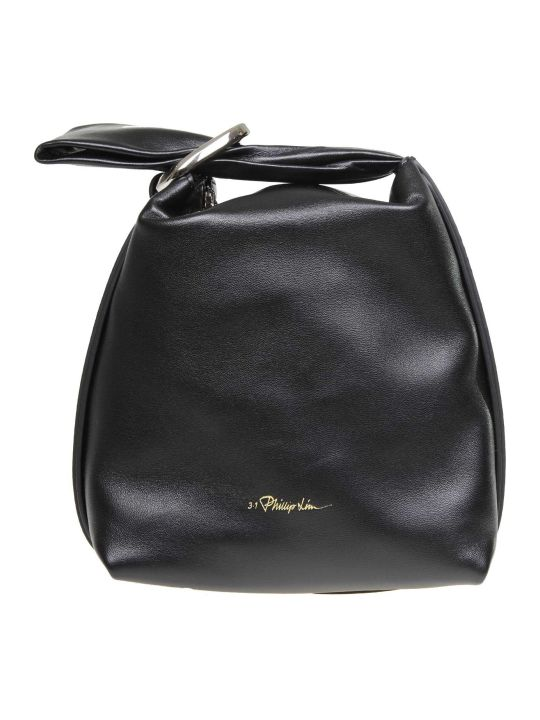 3.1 Phillip Lim Phillip Lim Ines Hand Bag In Black Color Leather