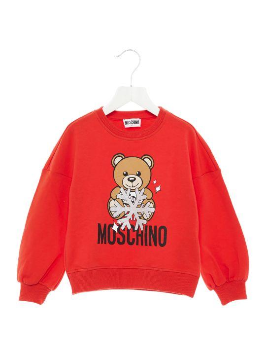 Moschino 'teddy Snow' Sweatshirt