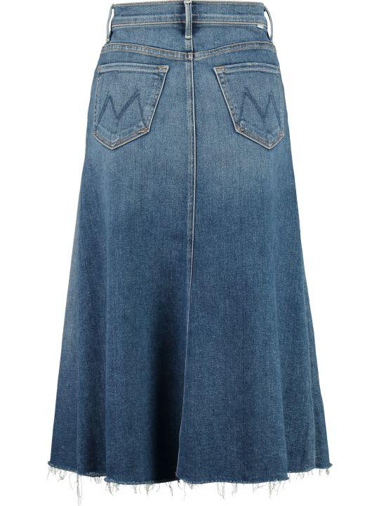 Mother The Circle Denim Skirt