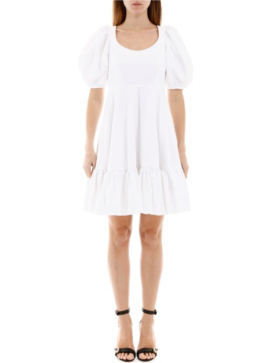 Alexander McQueen Cotton Mini Dress