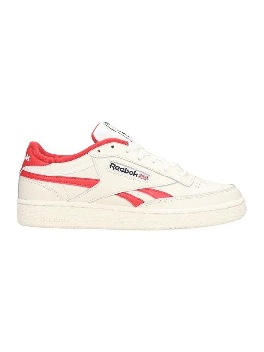 Reebok Club Revenge Mu Sneakers In White Leather