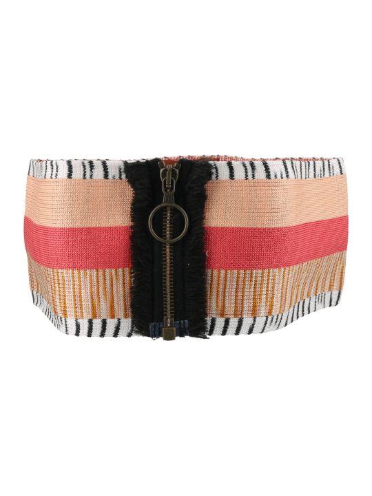 Missoni Elastic Zip Belt