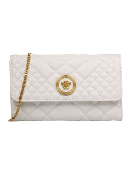 Versace Quilted Medusa Shoulder Bag