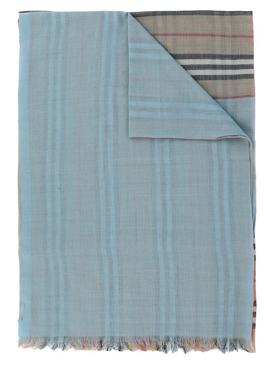 Burberry Vintage Check Color Gauze Scarf