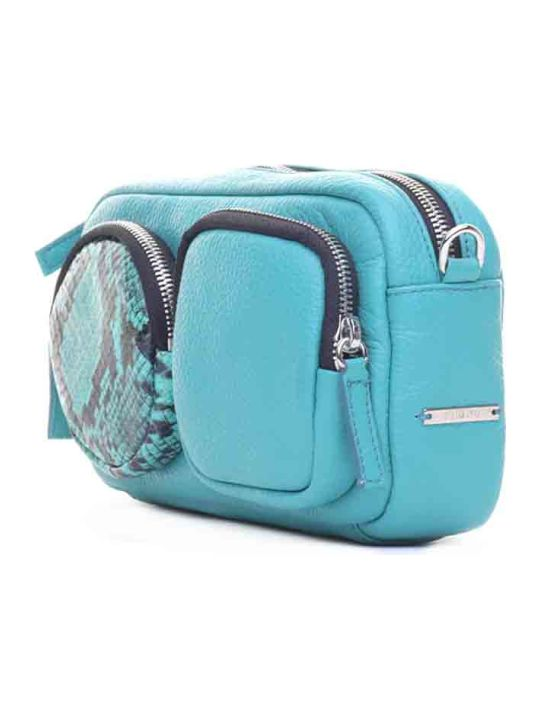 Vic Matié Vic Matié Kaila Emerald Leather Mini Bag
