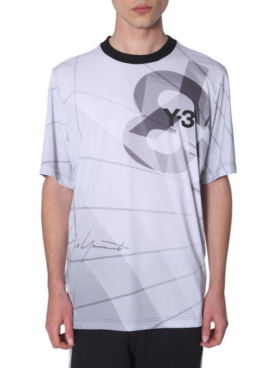 Y-3 Aop Football T-shirt