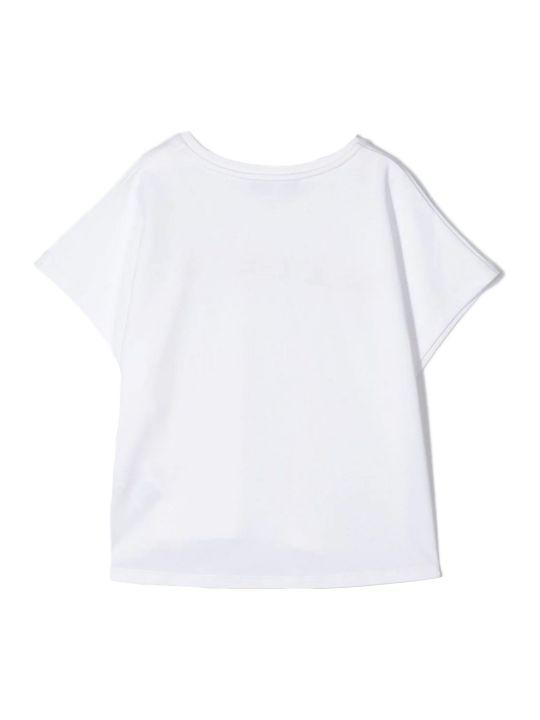 Givenchy White Cotton T-shirt