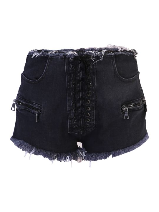 Ben Taverniti Unravel Project Denim Shorts