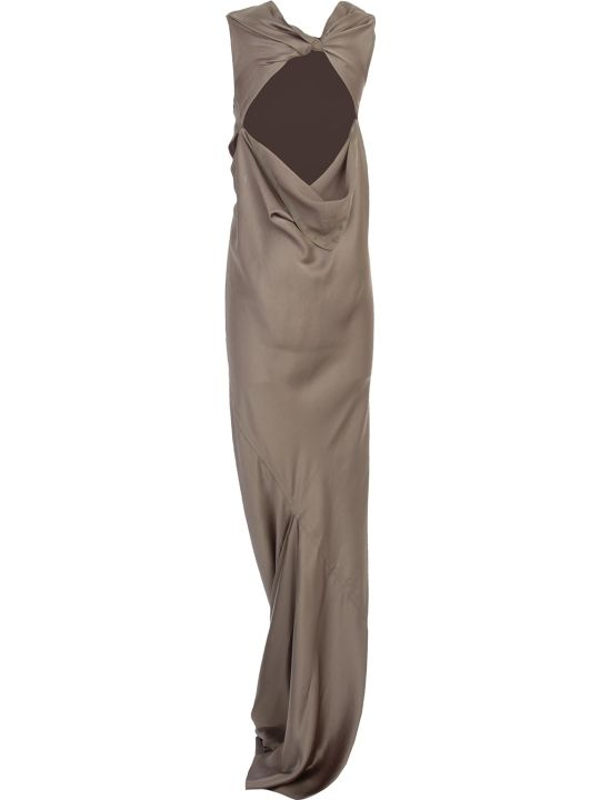 Rick Owens Skorpio Gown Dress Long Viscose