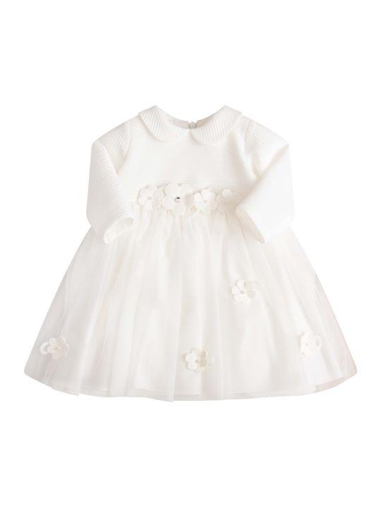LòLò White Dress With Flowers