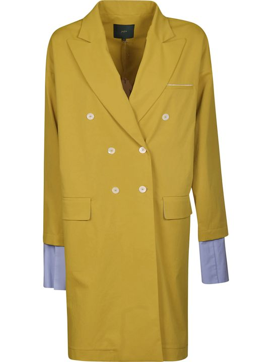 Jejia Double-breasted Long Coat
