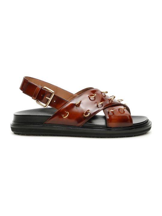 Marni Piercing Fussbett Sandals