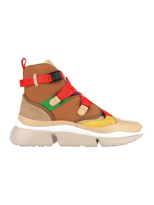 Chloé Chloe' High Top Sneakers