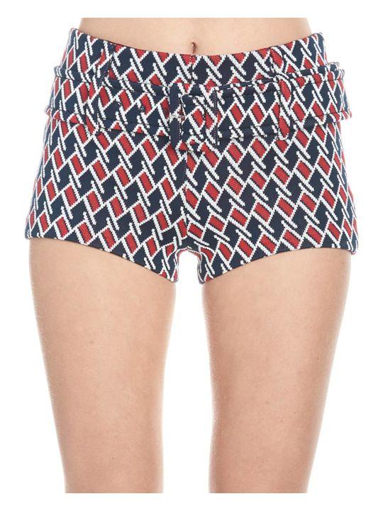 Prada 'argyle Jaquard' Shorts