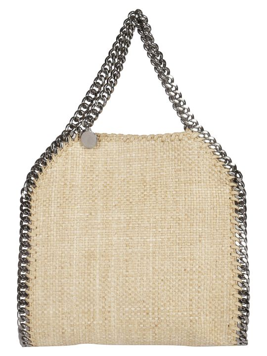 Stella McCartney Rafia Falabella Shoulder Bag