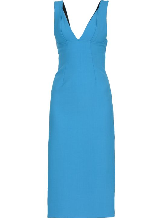 Victoria Beckham Plain Color Dress
