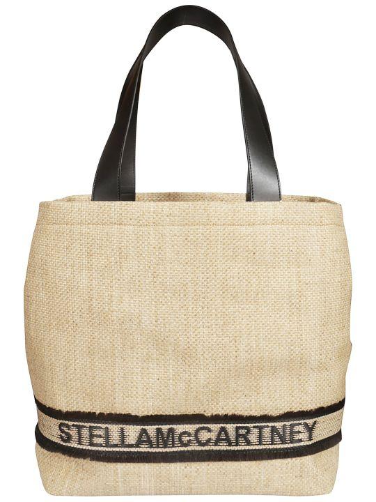 Stella McCartney Woven Logo Tote