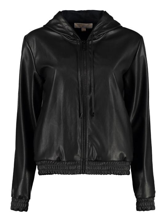 Michael Kors Faux Leather Jacket