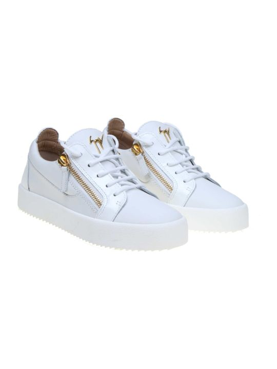 Giuseppe Zanotti Sneakers Gail In White Leather