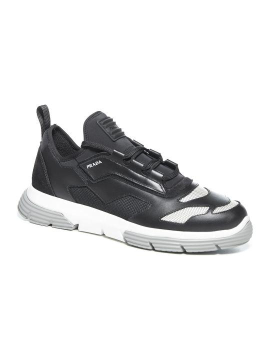 Prada Linea Rossa Twist Sneakers
