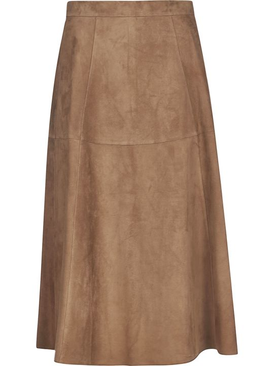 Max Mara The Cube Flared Skirt