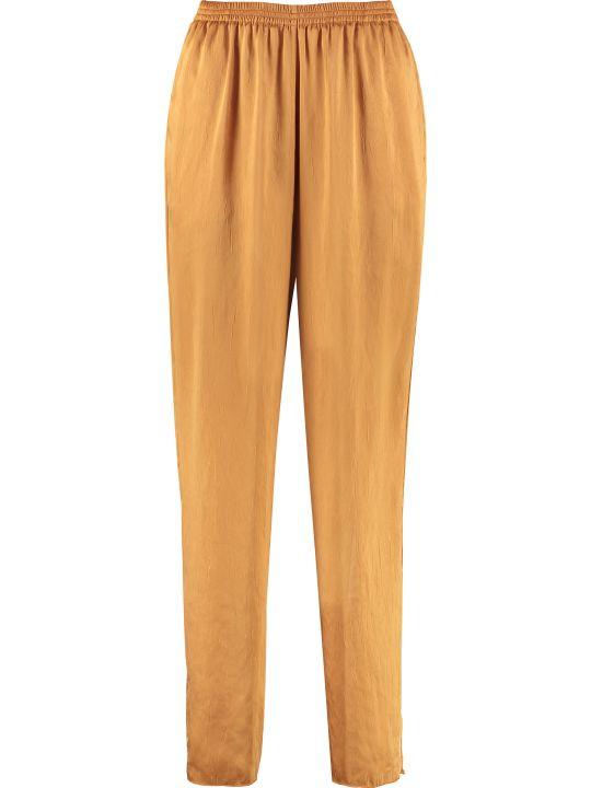 Forte_Forte High-waist Crêpe Trousers