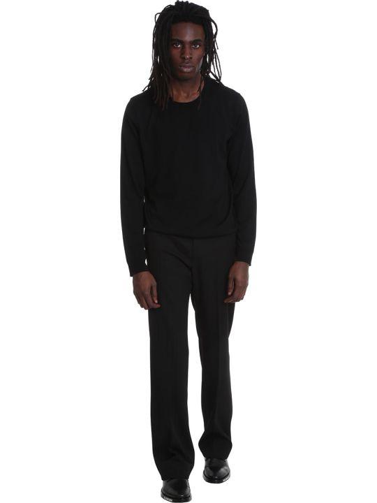 Balenciaga Knitwear In Black Wool