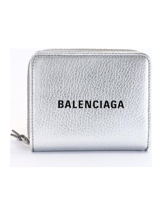 Balenciaga Silver Wallet
