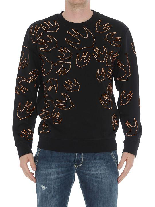 McQ Alexander McQueen Maxi Signature Swallow Sweatshirt