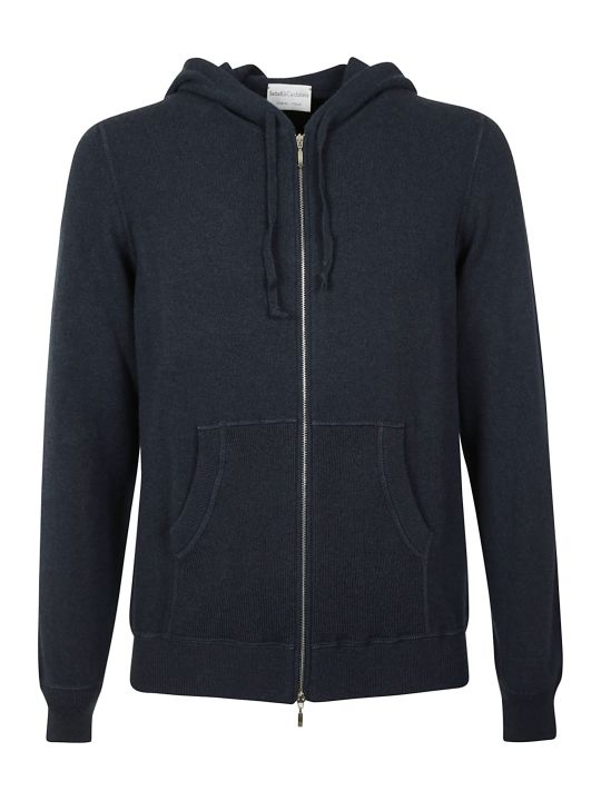 Settefili Cashmere Hooded Zipped Jacket